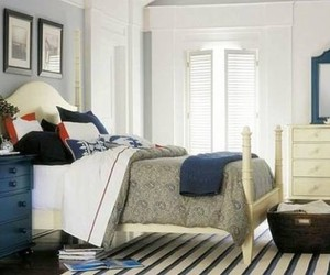 bedroom, home decor, and home decorating image