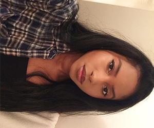 alt girl, dyed hair, and black hair image