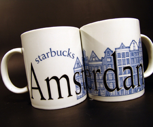 amsterdam and starbucks image