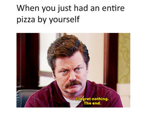 food, meme, and ron swanson image