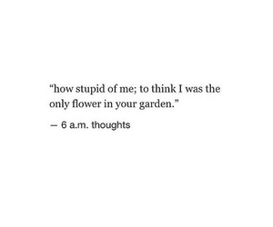 flower, me, and quote image