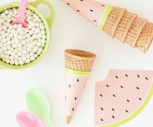 birthday, diy, and ice cream image