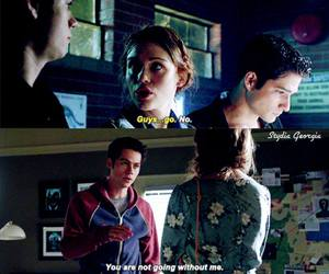 teen wolf, holland roden, and dylan o brien image
