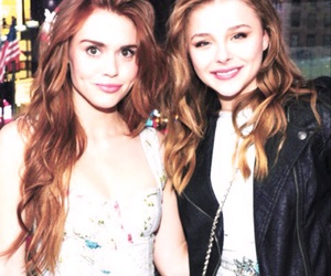 holland roden, chloe moretz, and teen wolf image