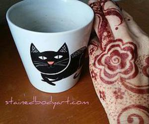 cats, coffee, and 7enna image