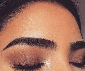 eyebrows, skin, and eyelashes image