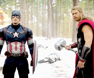 captain america, age of ultron, and Avengers image
