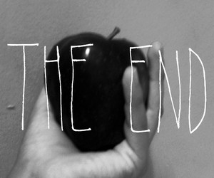 apple, the end, and wallpaper image