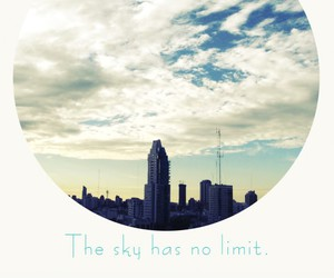sky and quote image