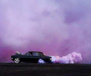 car, purple, and pink image