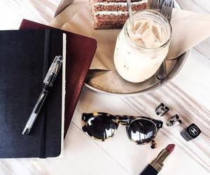 fashion, cake, and sunglasses image