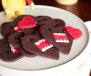 domo, Cookies, and heart image