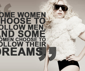 Lady gaga, Dream, and quote image