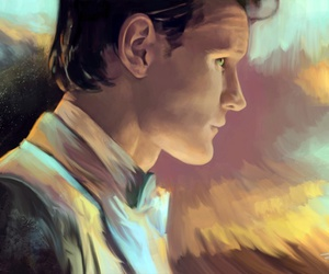art, doctor who, and man image