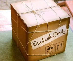 box, candy, and diy image