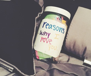 gift ideas, reasons why i love you, and tumblr relationship image