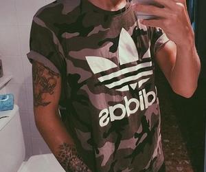 adidas, grunge, and menswear image