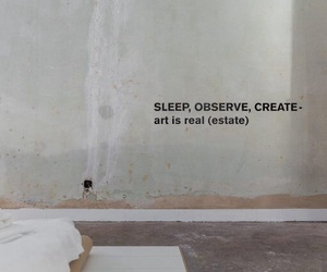 art, quotes, and sleep image