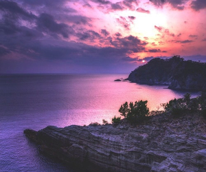 pink, purple, and travel image