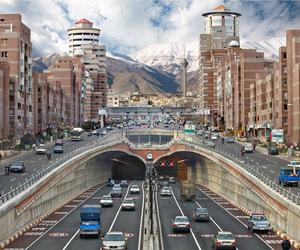 city, iran, and tehran image