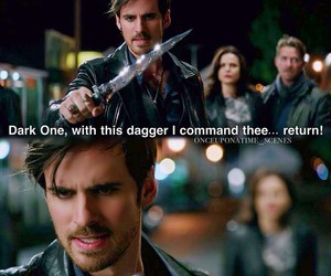 once upon a time, captain hook, and robin hood image