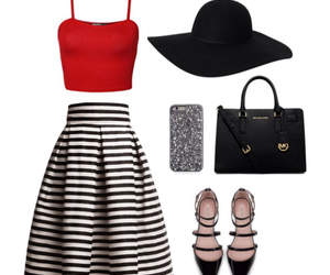 outfit, skirt, and michaelkors image