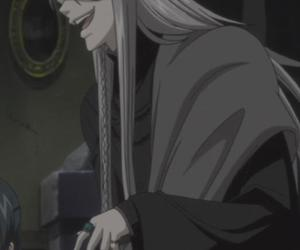 black butler, kuroshitsuji, and undertaker image