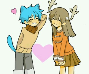 gumball and penny image