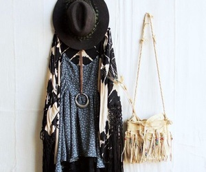 style, boho, and outfit image