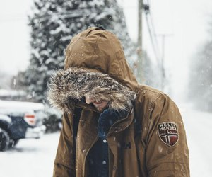 boy, cold, and grunge image