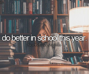 school, study, and bucket list image