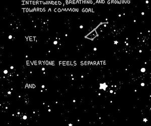 quotes, space, and stars image
