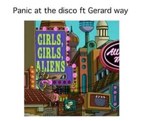 my chemical romance, gerard way, and panic at the disco image