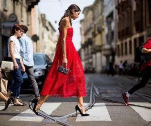 dress, glamour, and fashion image