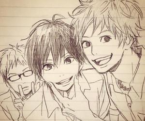 orange, manga, and kakeru image