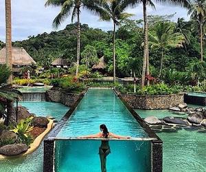 bikini, luxury, and paradise image