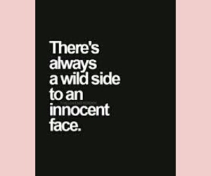 face, innocent, and quote image