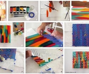 diy, art, and paint image
