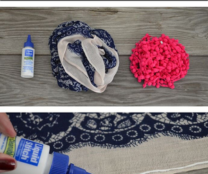diy, fashion, and scarf image