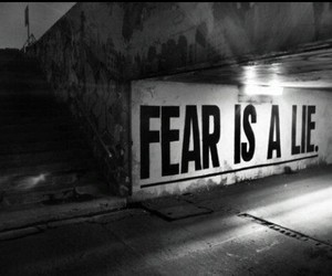 fear, lies, and quote image