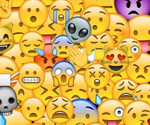 funny, smiley, and emojis image