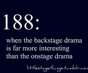 backstage, drama, and stage image