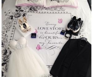 couple, dress, and future image