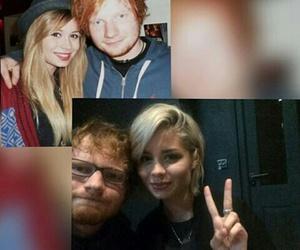 ed sheeran, nina nesbitt, and love image
