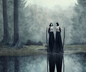 black, dark, and wild image