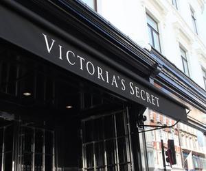 Victoria's Secret, black, and store image