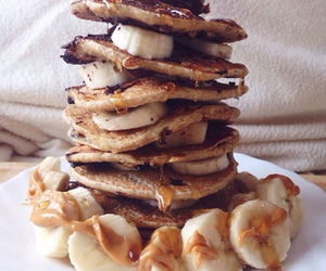 food, fitness, and pancakes image