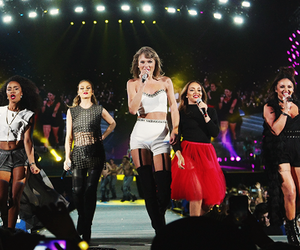 Taylor Swift, little mix, and perrie edwards image