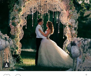 beautiful, bridge, and wedding image