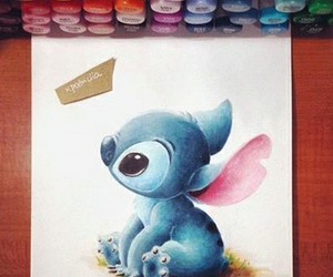drawing, art, and lilo image